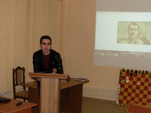 Կայացավ մասնաճյուղի ՈՒԳԸ հիմնադրման 15-ամյակին  նվիրված ուսանողական գիտաժողովը